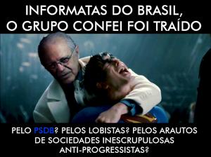 TRAIDOS pelo PSDB